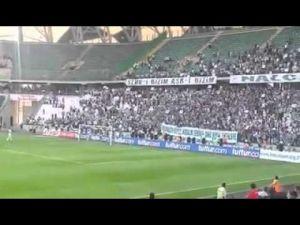 Konyaspor taraftarından müthiş maç sonu şovu