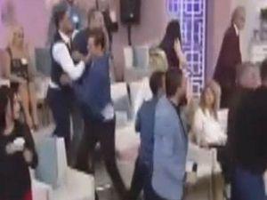 Esra Erol'un programında tekme tokat kavga