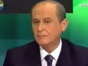 Arşivlerden Bahçeli'nin istifa videosu çıktı!
