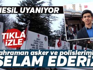 """AK Lise'den """"Kahraman Asker ve Polislerimize Selâm Ederiz!"""""""