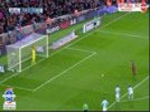Messi penaltıdan pas verdi