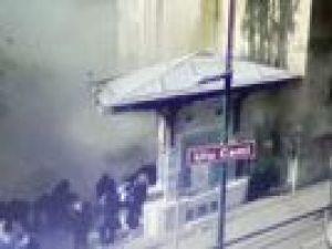 İşte Bursa'daki patlama anı