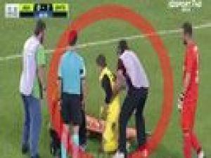 Futbolcuların sağlık ekibiyle imtihanı
