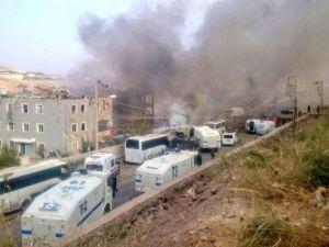 Cizre Emniyet Müdürlüğü binasına bombalı saldırı