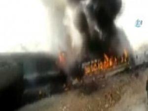 İran'da iki yolcu treni kafaya çarpıştı