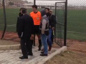 Hakeme maçta FETÖ'den gözaltı