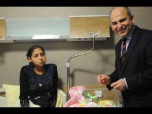 Konya Doğum ve Çocuk Hastanesi'nin ilk bebeği doğdu