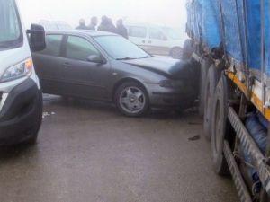 Konya'da 32 araç birbirine girdi