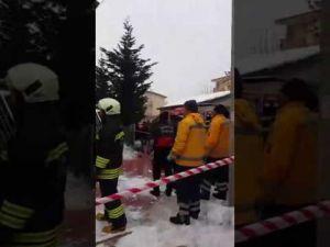 Konya'da bir camide göçük: YARALILAR VAR