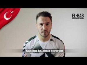 Konyasporlu futbolculardan El Bab şehitlerine...