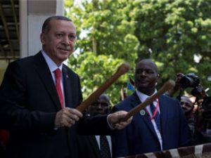 Cumhurbaşkanı Erdoğan 'tamtam' çaldı