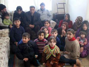 Musul'dan kaçan 22 kişilik aile Kayseri'de yaşam savaşı veriyor
