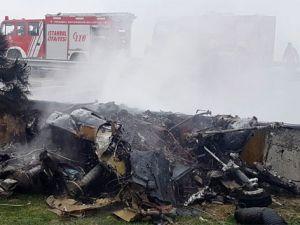 İstanbul'da helikopter düştü: 6 ölü