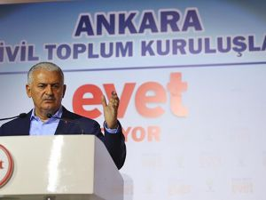 Yıldırım: Anayasanın herhangi bir yerinde eyalet varsa görevi bırakacağım