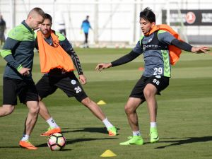 Atiker Konyaspor'da Gaziantepspor maçı hazırlıkları sürüyor