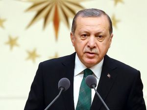 Cumhurbaşkanı Erdoğan konuşuyor