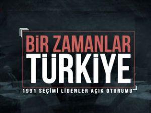 Bir Zamanlar Türkiye - 1991 Seçimi Liderler Açık Oturumu - A Haber