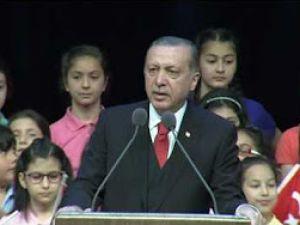 Erdoğan,  Çocuk Bayramına katıldı