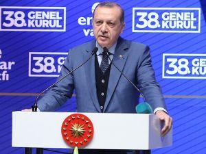 Erdoğan Ensar Vakfı'nda konuştu
