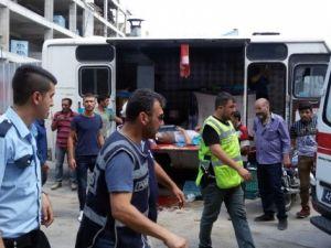 Pazar yerinde köfteciyi vurup rastgele ateş açtılar: 4 yaralı