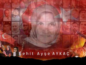 Meram Belediyesi'nden şehit Ayşe Aykaç videosu