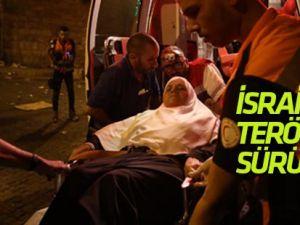 İsrail terörü sürüyor