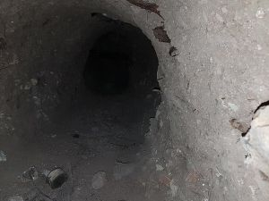 Nusaybin'de Suriye sınırına kadar uzanan tünel bulundu