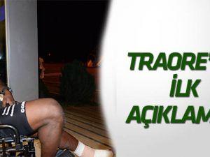 """Traore """"Sezonun başında takımımı yalnız bıraktığım için çok üzgünüm"""""""