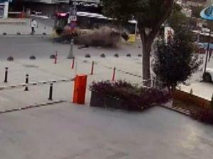 İstanbul'daki korkunç kaza kamerada