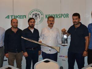Elmas Yüreklilerden Konyaspor'a teşekkür