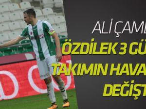 Çamdalı: Mehmet hoca takımın havasını değiştirdi