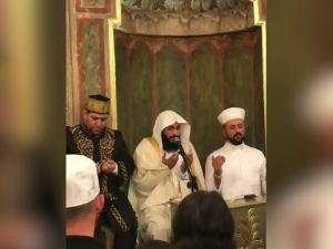 Kabe imamı Abdurrahman El Ussi, Türkiye ve Erdoğan'a dua etti