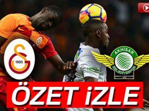 ÖZET İZLE: Galatasaray 4-2 Akhisarspor Maçı Özeti ve Golleri İzle | GS Akhisar kaç kaç bitti?
