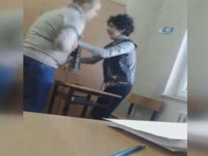 Otizmli çocuğa şiddet iddiası kamerada