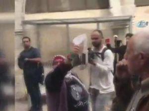 Recep Tayyip Erdoğan'ın fotoğrafına İsrail polisi tahammül edemedi