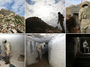 Teröristlerin 300 metrelik 'televizyonlu' tüneli görüntülendi