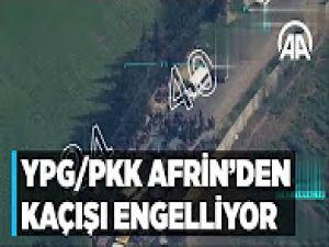 Afrin'de sivillere YPG/PKK zulmü