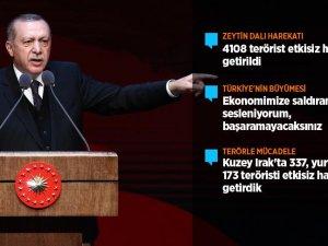 Erdoğan: Başaramayacaksınız