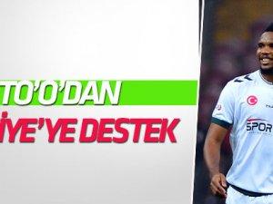 """Samuel Eto'o'dan """"EURO 2024"""" için Türkiye çağrısı"""
