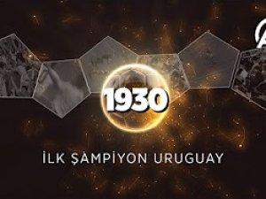 Dünya kupası tarihinden: İlk şampiyon Uruguay