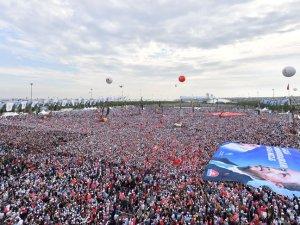 Cumhurbaşkanı Erdoğan 'Büyük İstanbul Mitingi'nde konuştu