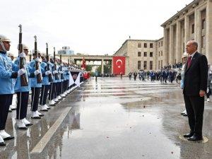Cumhurbaşkanı Erdoğan, yemin töreninin ardından Anıtkabir'de