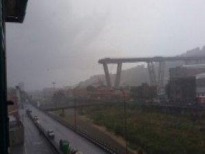 talya'da köprü çöktü