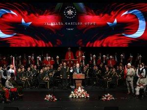 Cumhurbaşkanı Erdoğan gazilerle buluştu