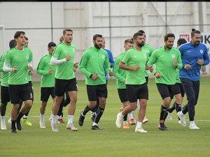 Konyaspor'da Çaykur Rizespor mesaisi başladı