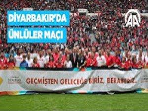 Diyarbakır'daki ünlüler maçı