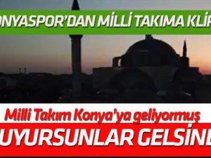Atiker Konyaspor'dan Milli Takım'a klip: Buyursunlar gelsinler