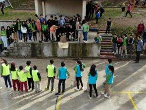 Süper Lige damga vuran o uygulama köy okulunda