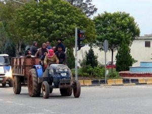 Tarım işçilerinin tehlikeli yolculuğu |Kilis haberleri