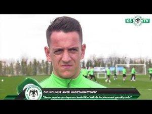 Hadziahmetovic penaltı pozisyonu hakkında konuştu